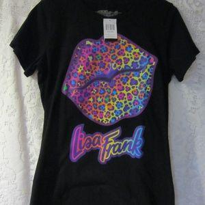 Lisa Frank Leopard lips t shirt size  Med